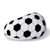 Förderung Belüftung-aufblasbares Luft-Fußball-Sofa-Bett für Verkauf