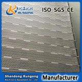 Ceintures de liaison en plaques métalliques, convoyeurs à plaques métalliques