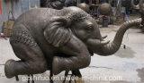 [بولرسن] فيل, خارجيّة زخرفيّة راتينج نحت
