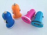 Горячая продажа 5V 1A мини зарядное устройство USB в автомобильное зарядное устройство