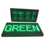 P10 al aire libre escogen el módulo verde de la cartelera de la pantalla de visualización del texto del LED