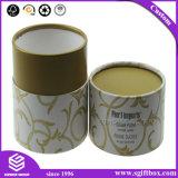 Коробка дух подарка круглого картона упаковывая косметическая относящая к окружающей среде