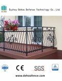 Rete fissa d'acciaio del balcone dello zinco modellato con nuovi stile ed alta qualità