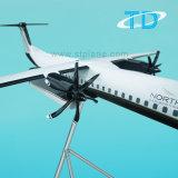 Avions modèles de large échelle de résine de Dash8-400 (Q400) 132cm