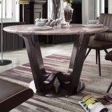 Tableau dinant à la maison moderne d'acier inoxydable de meubles (LT2014)