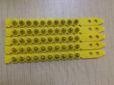 Couleur jaune. 27 chargement en plastique de pouvoir de chargement de poudre de bande de chargement de calibre du calibre S1jl