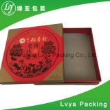 La impresión personalizada Wholesales plegable de cartón corrugado Papel regalo Caja con tapa