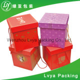 Het goedkope Douane Afgedrukte Kosmetische Vakje van het Document voor de Verpakking van de Gift