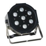 Luz 4 de la etapa en 1 luz a todo color de la IGUALDAD de 7X10W RGBW LED