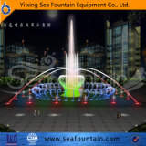 Fontaine interactive extérieure de syndicat de prix ferme de musique de lampe de DEL