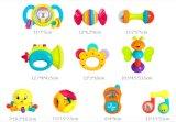 아기 장난감이 아이 플라스틱 교육 아기에 의하여 덜걱덜걱 소리난다