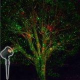 Luzes ao ar livre do partido do laser do chuveiro da luz da estrela da noite de Natal