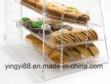 Kundenspezifischer Acrylbrot-Kasten mit Tür (YYB-078)
