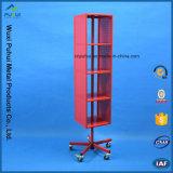 Cuatro caras Piso Rack pantalla giratoria de acero para colgar (PHY261)