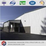Costruzione prefabbricata dell'acciaio per costruzioni edili con l'ufficio