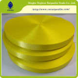 Het gele Witte PUNT Afgedrukte Lint van de Grond met Uitstekende kwaliteit