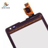 NokiaマイクロソフトLumiaのための移動式携帯電話LCDのタッチ画面435の532のガラス計数化装置の部品