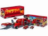Automobile stabilita fusa sotto pressione della testa di resistenza del giocattolo F/W del parcheggio/con protezione contro l'incendio dell'indicatore luminoso/musica/uso 3*AA