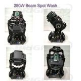 Brighten 280W Pointe Beam Spot de lavado de luz de cabeza móvil