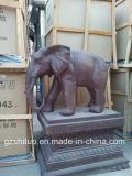 Polyresin 코끼리, 옥외 장식적인 수지 조각품