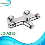 Insieme termostatico moderno dell'acquazzone del sensore della stanza da bagno domestica elegante