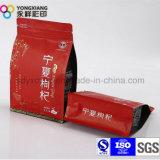 Merienda personalizada de alimentos de la fruta seca de la bolsa de embalaje de plástico