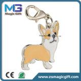 China Chaveiro Metal personalizadas feitas na fábrica Cartoon Dog chaveiro