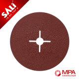 Disco abrasivo della fibra dell'ossido di alluminio del campione libero della fabbrica di alta qualità