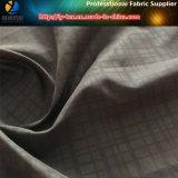 Ново! Ткань полиэфира с напечатанной и зашкуренной отделкой для пальто (LY-R0094M)