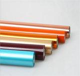 Colorir a película quente da folha de carimbo da transferência térmica para o papel e o plástico