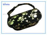Kleine Handtasche des Folien-Goldschädel-Druck-Mädchens