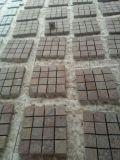 Pedreiras de pavimentação de pórfiro vermelho Pedra de pavimentação de granito