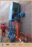 Поднимать домкратом бака гидровлический вверх по системе
