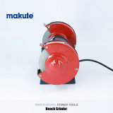 Amoladora eléctrica industrial del banco de la máquina 250W de la amoladora de Makute mini