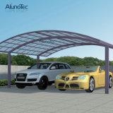 Parking en aluminium de polycarbonate double pour le garage de véhicule