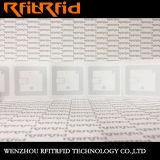 Étiquettes passives de collant de livre d'IDENTIFICATION RF d'à haute fréquence ISO15693