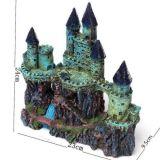 Castillo antiguo de Europa de la decoración del acuario