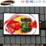 Indicador de diodo emissor de luz do anúncio ao ar livre de cor cheia 576*576mm de HD P6