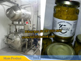 Tipo de controle PLC Esterilizador de autoclave para alimentos enlatados
