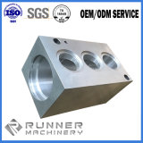 CNCの機械化の部品を機械で造るプラスチックおよび金属のアルミニウム部品