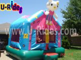 Hot of halls Kitty Cat Inflatable Bouncer Bounce House Jumping Castle For Kids