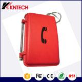 Knsp-01 IP de Waterdichte Telefoon van de Noodsituatie van het SLOKJE van de Telefoon voor Spoorweg