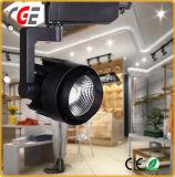 Voie LED blanc et noir 15W 20W 30W 36W a conduit la voie de la lumière avec ce RoHS voie lampe approuvé