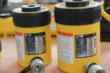 Cylindre hydraulique de plongeur creux à simple effet de 60 tonnes