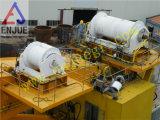 Marinelieferungs-Plattform-Kran-elektrischer hydraulischer mit Flansch befestigter Offshorekran