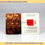 Tarjetas en tarjeta del plástico de la tarjeta del PVC de la tarjeta del regalo