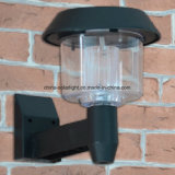 Tipo solar luz e lâmpada de parede 1.2V plástica para o caminho ou a passagem