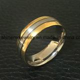 Anillo Titanium del chapado en oro de la joyería de la alta calidad de la joyería de Shineme (TR1913)