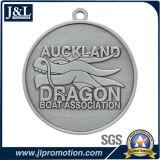 Prix de médaille en métal d'argent d'antiquité de modèle de Cutomser bon d'événement