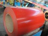 Bobine en acier galvanisée enduite d'une première couche de peinture